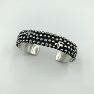 Navajo Sterling Cuff Bracelet by Ronnie Willie